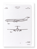Ezen Designs - Patent of airplane (1981) - Greeting Card - Front