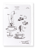 Ezen Designs - Patent of tea bags (1934) - Greeting Card - Front