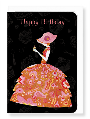 Ezen Designs - Birthday girl - Greeting Card - Front