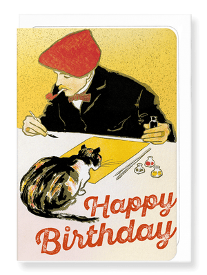 Ezen Designs - Birthday artist - Greeting card - Front