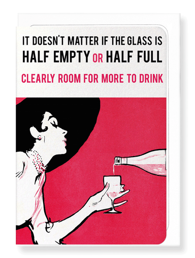 Ezen Designs - Room to drink - Greeting Card - Front