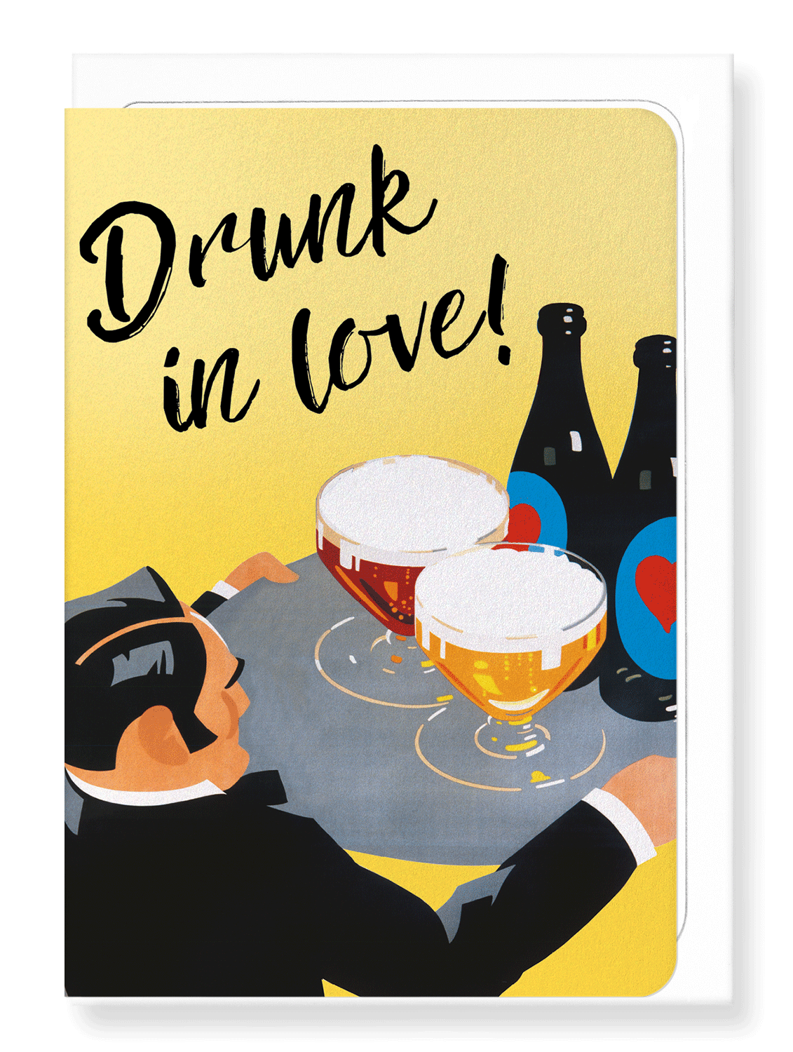 Ezen Designs - Drunk in love - Greeting Card - Front