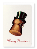 Ezen Designs - Christmas top hat - Greeting Card - Front