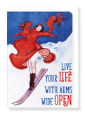 Ezen Designs - Live your life - Greeting Card - Front
