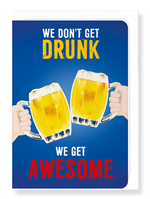 Ezen Designs - We get awesome - Greeting card - Front
