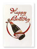 Ezen Designs - Birthday champagne - Greeting Card - Front