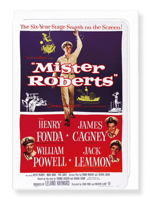 Ezen Designs - Mister roberts (1955) - Greeting Card - Front