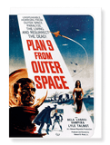 Ezen Designs - Plan 9 from outer space (1959) - Greeting Card - Front