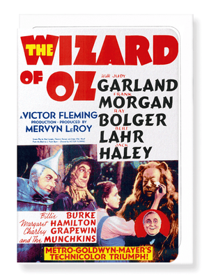 Ezen Designs - The wonderful wizard of oz (1939) - Greeting Card - Front