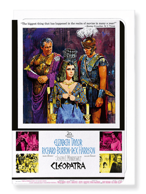 Ezen Designs - Cleopatra (1963) - Greeting Card - Front