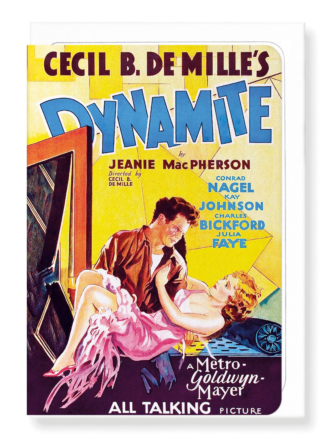 Ezen Designs - Dynamite (1929) - Greeting Card - Front
