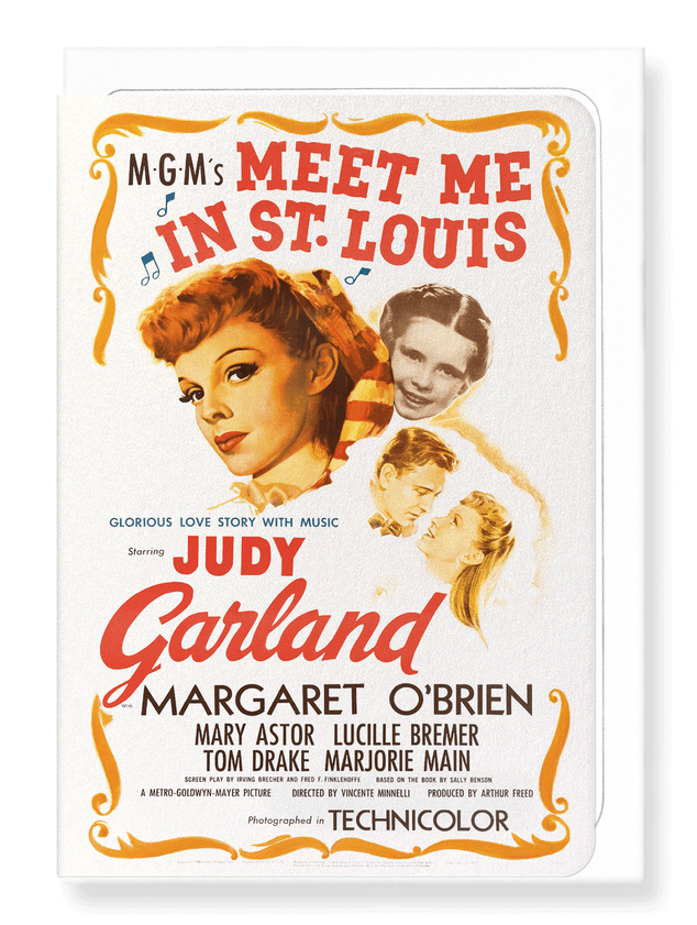 Ezen Designs - Meet me in st. louis (1944) - Greeting Card - Front