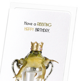 A ribbiting birthday