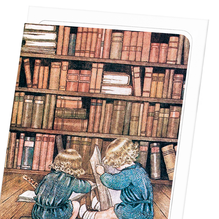 Bookworms by outhwaite