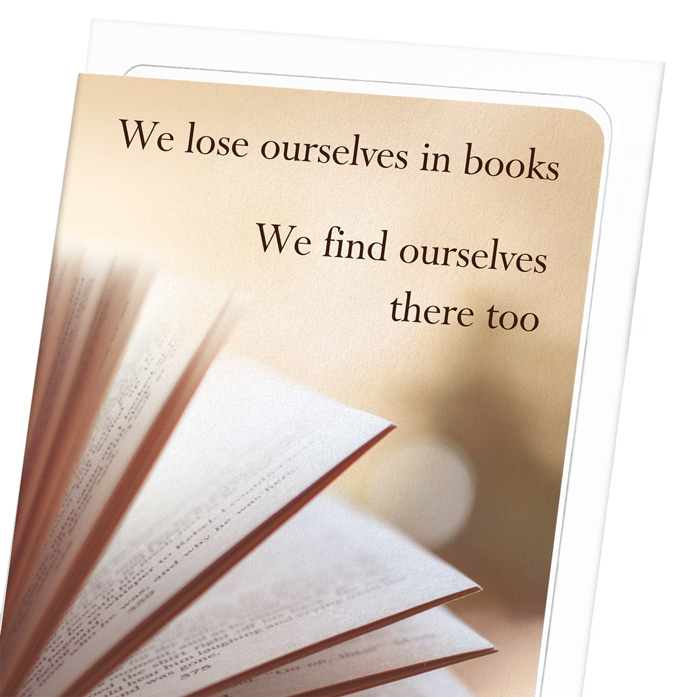 FINDING OURSELVES IN BOOKS