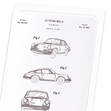 Patent of automobile (1964)