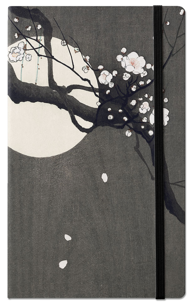 PLUM BLOSSOM AND FULL MOON