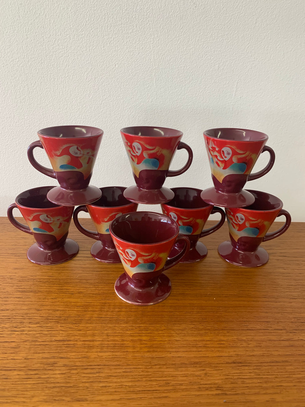 Vintage Liqueur or Espresso Cups by Linda Fritchel