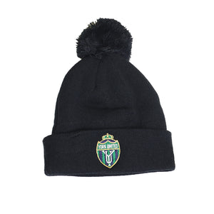 York United Blue New Era Pom Toque