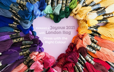 Kickstart a Joyous 2021 with London Rag: Dress with the Right Colour