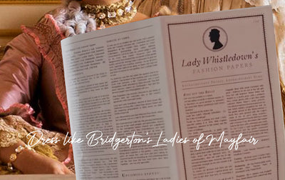Dress Like Bridgerton's Mayfair Ladies