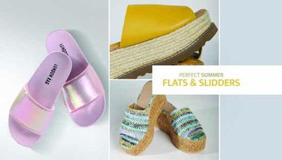 Perfect Summer Flats and Slidders