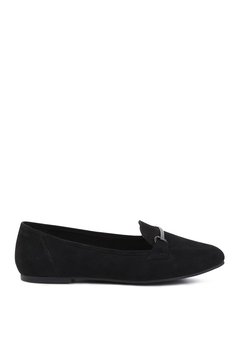 CAITLIN METAL DETAIL LOAFERS