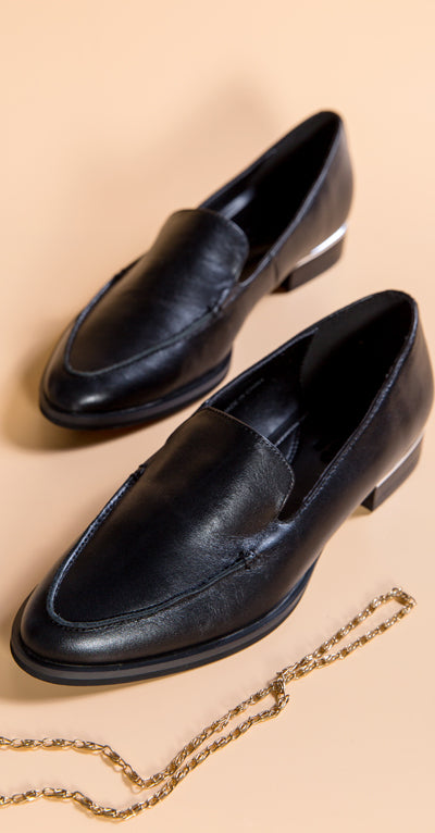 Formal Leather Loafers