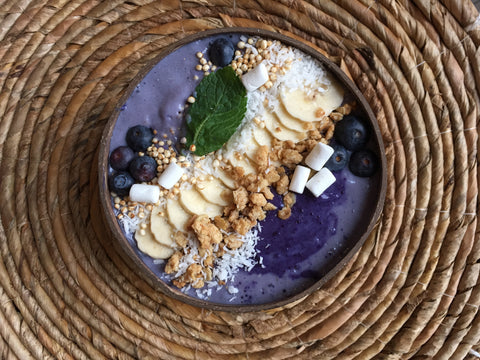 TROPICAL BUTTERFLY SMOOTHIE BOWL