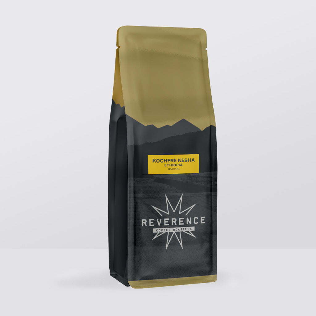 Ethiopia Kochere Kesha - Espresso Roast (Single Origin Coffee)