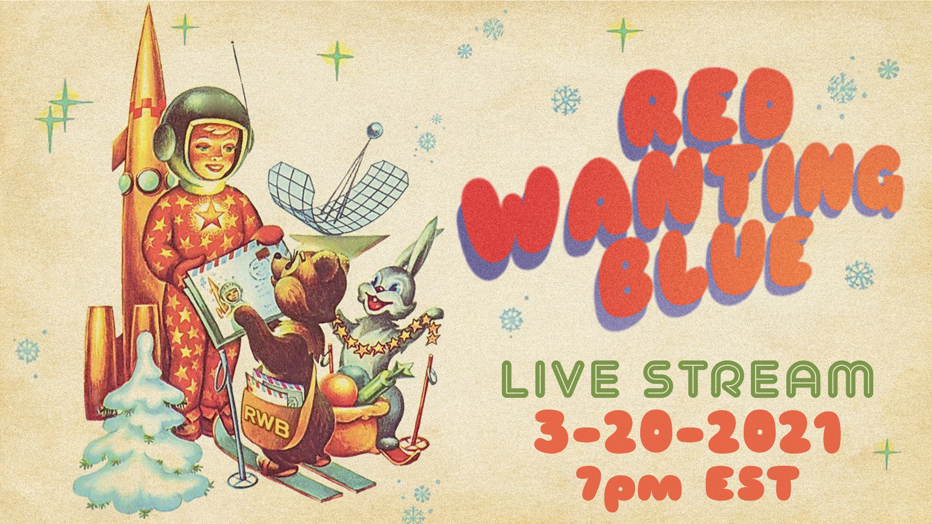 Red Wanting Blue Livestream 21 Banner