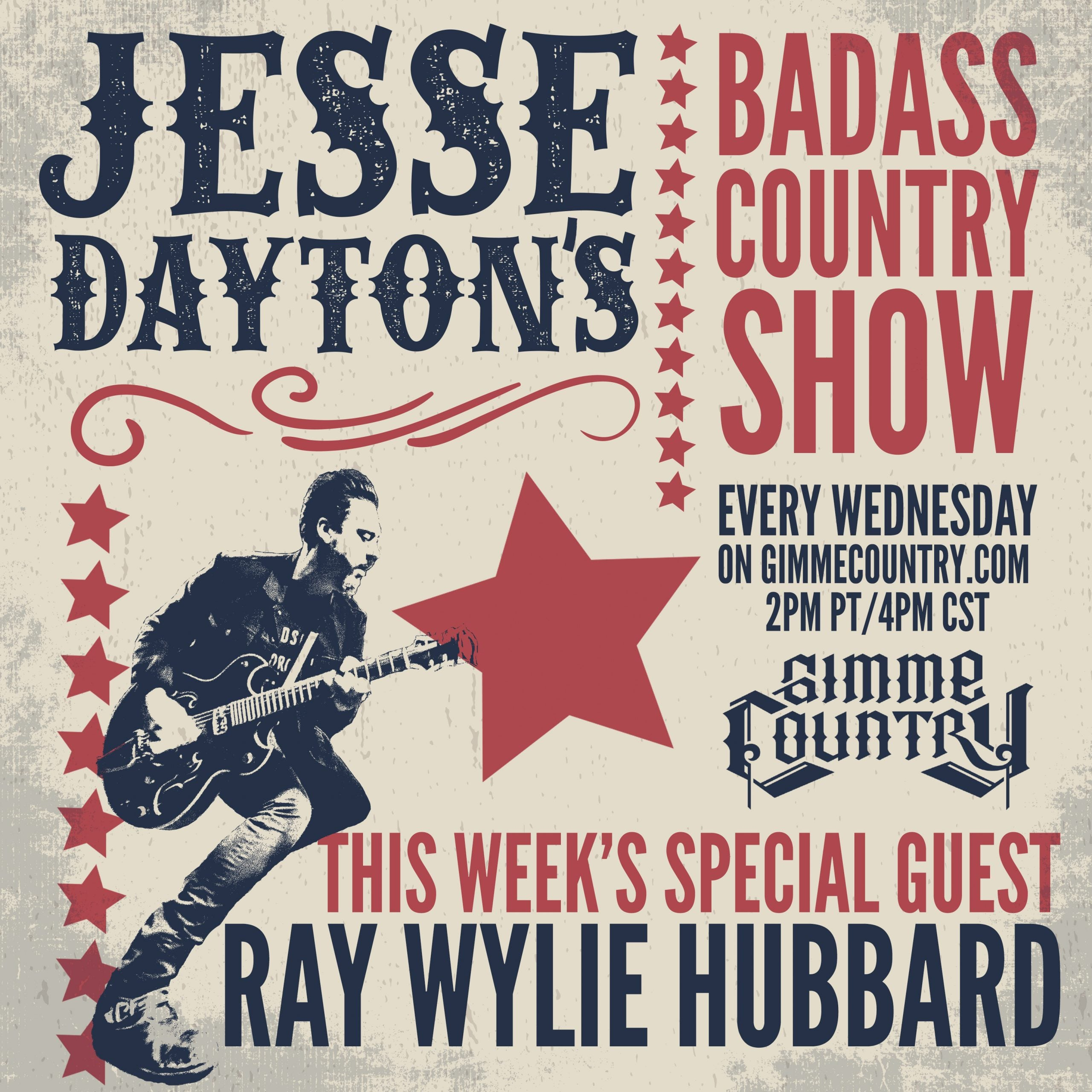 Jesse Daytons Badass Country Show on Gimme Country