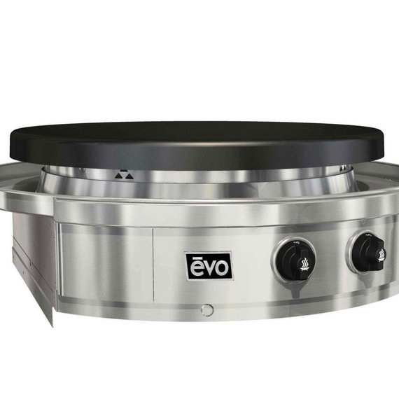 NEW Evo Affinity 30G Series Built-in Grill, Seasoned Steel Cooktop, Natural Gas