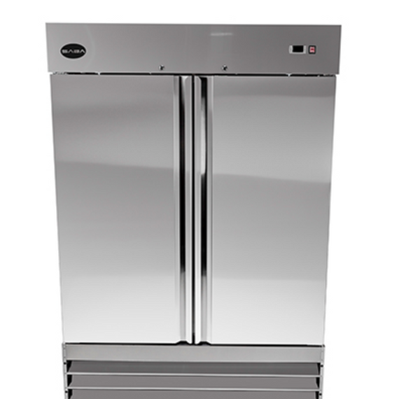New Saba 2 Door Reach in FREEZER #ST-48FG-E. Elite Series
