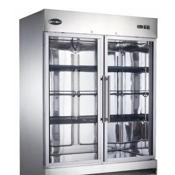 NEW Saba 2 Glass Door Freezer #S-48FG-E