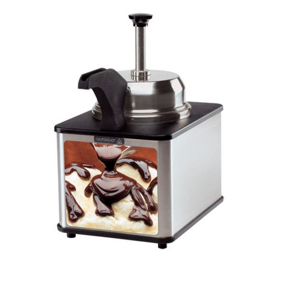 Server Hot Fudge Warmer Dispenser #FSPW-SS