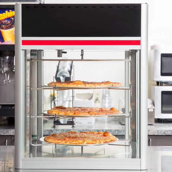 New Hatco Flav-R-Saver Pizza Display Merchandiser + Warmer 22