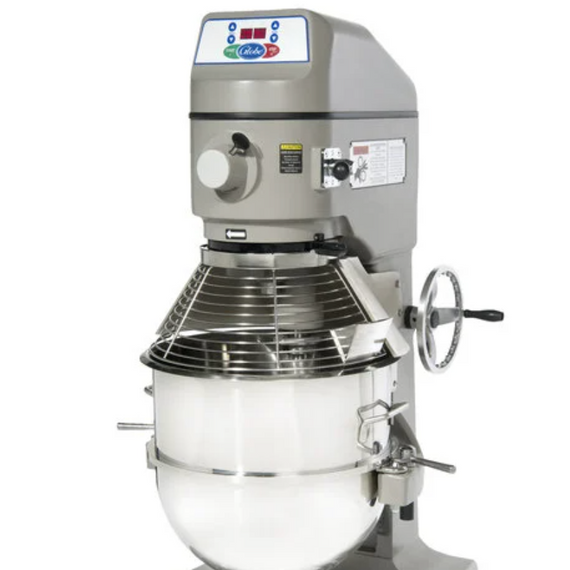 New Globe SP60 60 qt Planetary Mixer - Floor Model, 3 hp, 220v, 1ph