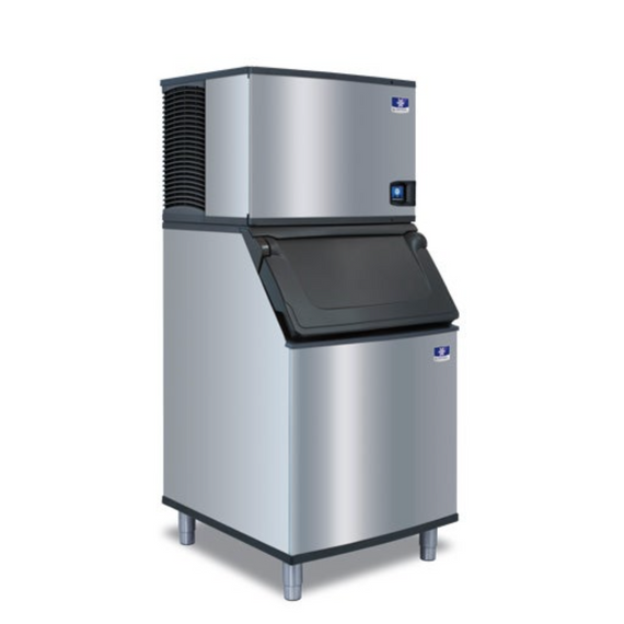 Manitowoc 550 lbs. Ice Maker with 530 lbs. storage bin - #IY0504a-161