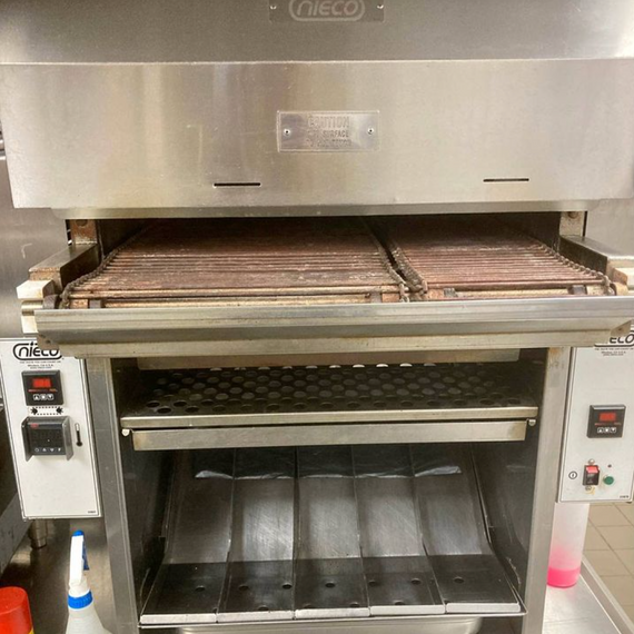 Nieco Model JF63-2G Automatic Gas Broiler - 2019 Late Model !