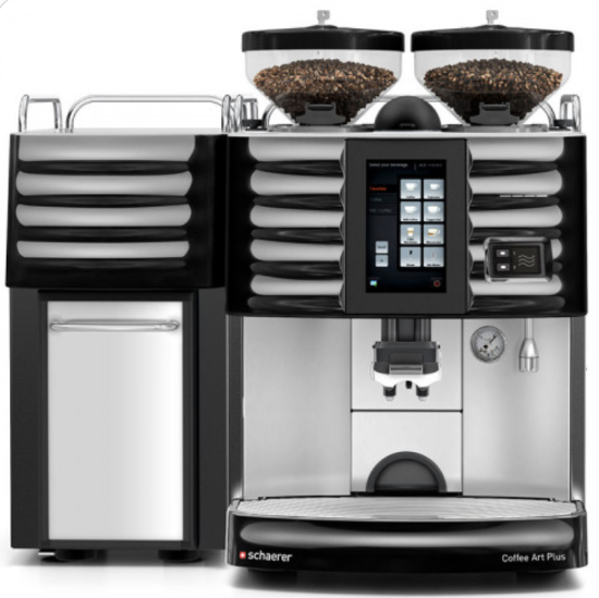 New Schaerer Coffee Art Plus Touchscreen Super Automatic Espresso Machine