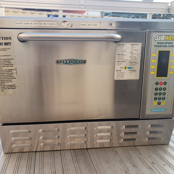TurboChef Tornado NGC Rapid Cook Oven - No hood required!   From Subway