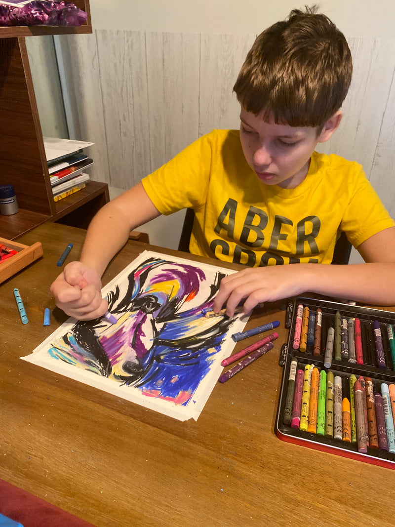 Can kid art be real art? Viktor isn't just any kid. Check out the latest news of Andrew Perez on Local10.com