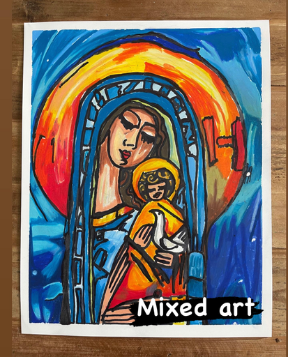 Mixed Art and Greeting cards