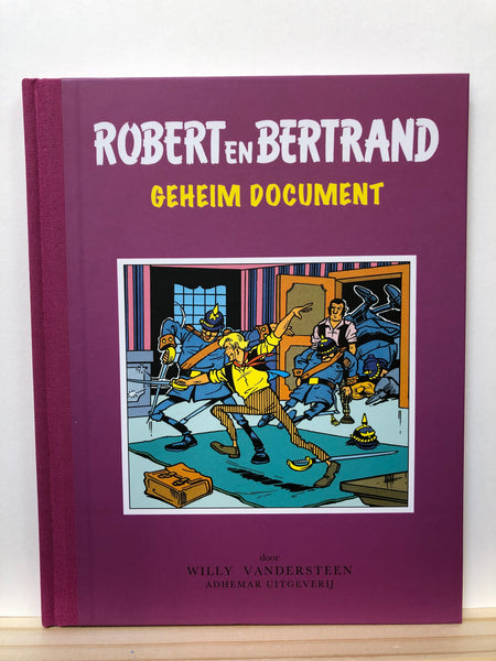 Robert en Bertrand - Geheim document