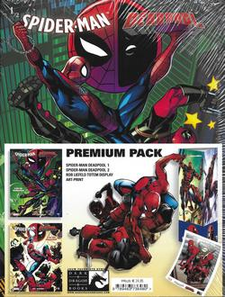 Spiderman deadpool premium pack