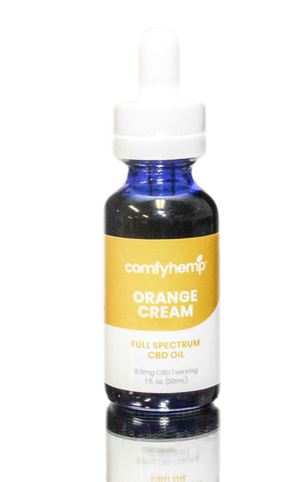Orange Cream Tincture 250mg