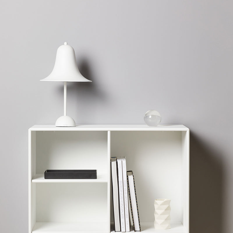 Pantop Ø23 Table Lamp - Matt White