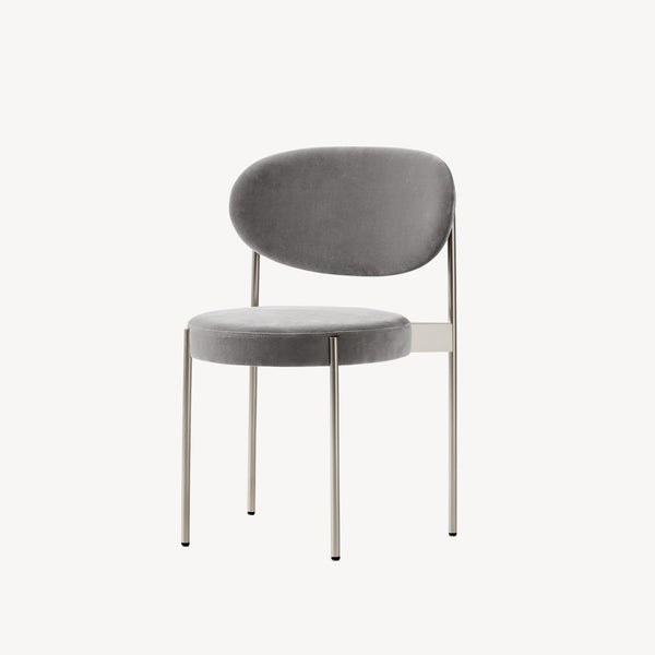 Series 430 Chair - Brushed steel frame