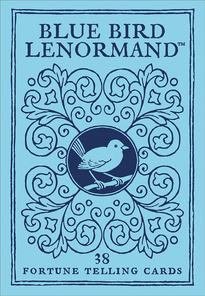 Blue Bird Lenormand: Fortune Telling Cards (36-card deck & 40-page booklet)